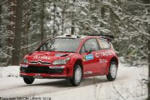 Citroen C4 WRC Daniel Sordo. Swedish Rally 2007